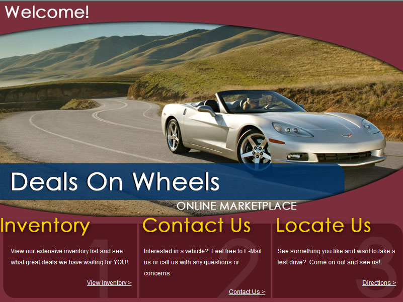 Car Dealer Website 2007