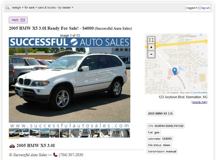 Craigslist Posting Tool for Car Dealers - KGI Dealer Solutions